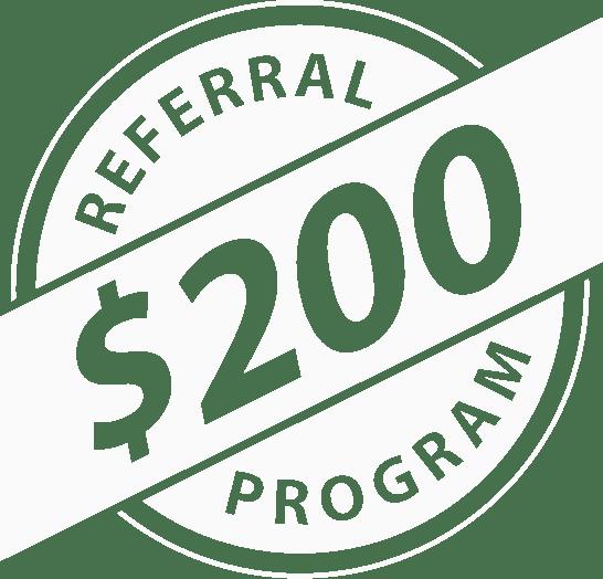 200 referral program