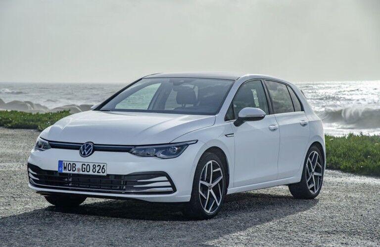 white 2020 Volkswagen Golf