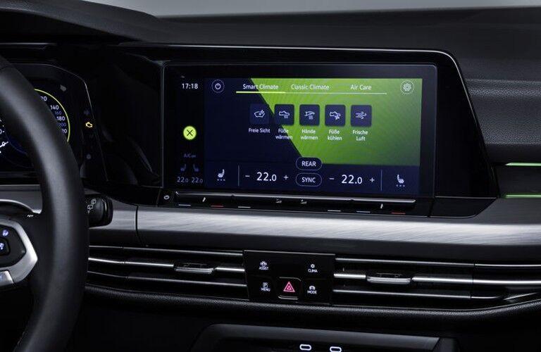 media display in the 2020 Volkswagen Golf