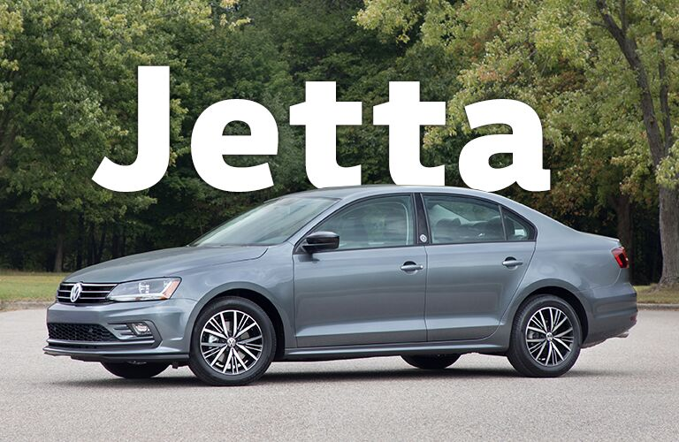 silver-blue Volkswagen Jetta with Jetta title