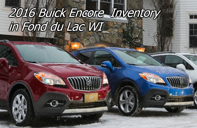 available 2016 buick encore for sale in fond du lac