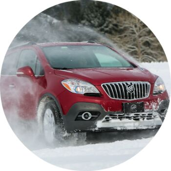 buick encore power and handling