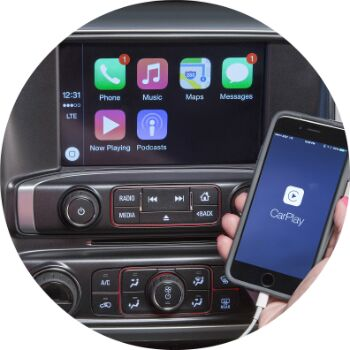 tech features in the gmc sierra