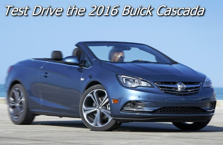 where can i test drive the buick cascada near appleton?
