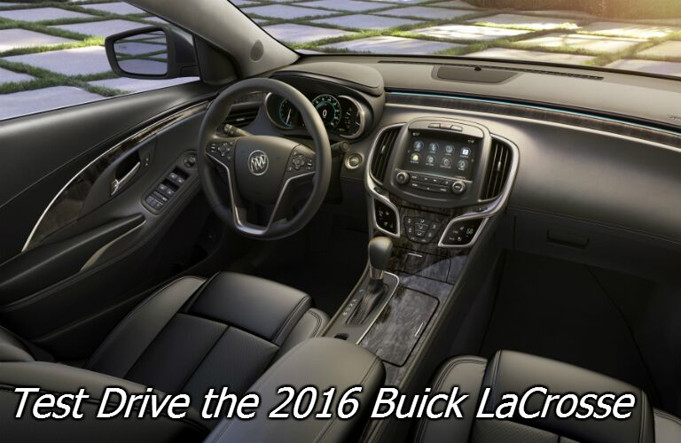 schedule a test drive for the 2016 buick lacrosse fond du lac wi