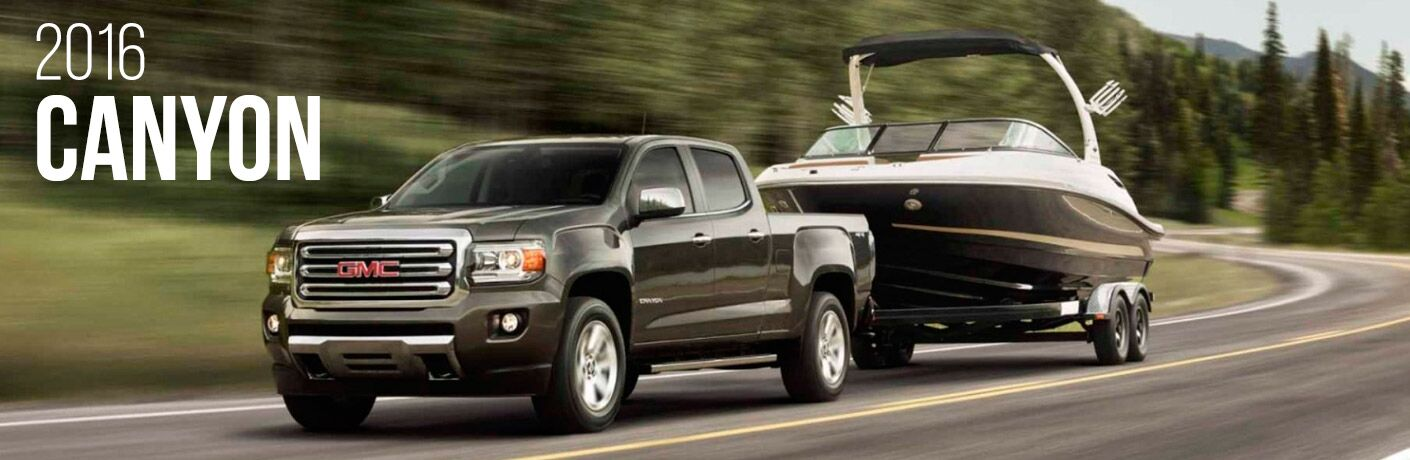 2016 GMC Canyon in Fond du Lac WI