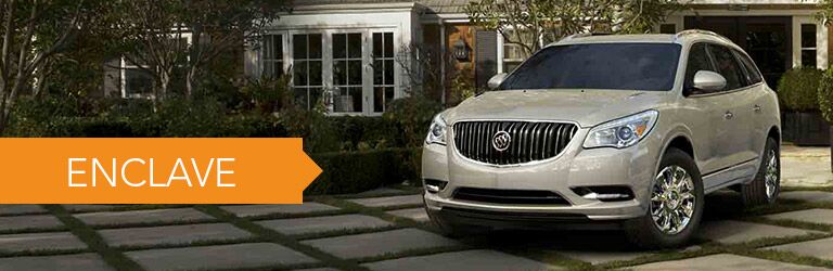 new buick enclave at holiday automotive