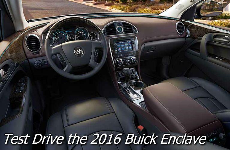 test drive the 2016 buick enclave fond du lac wi