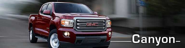 new gmc canyon at holiday automotive