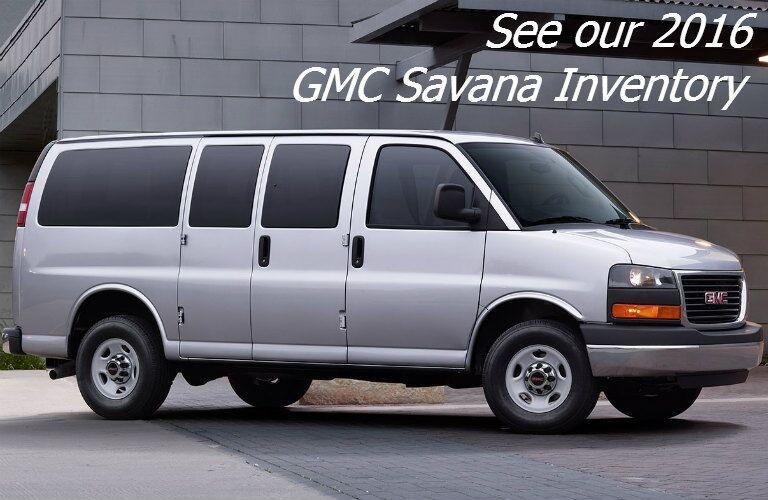 2016 gmc savana inventory in fond du lac