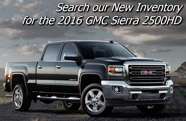 new 2016 sierra 2500hd inventory in fond du lac