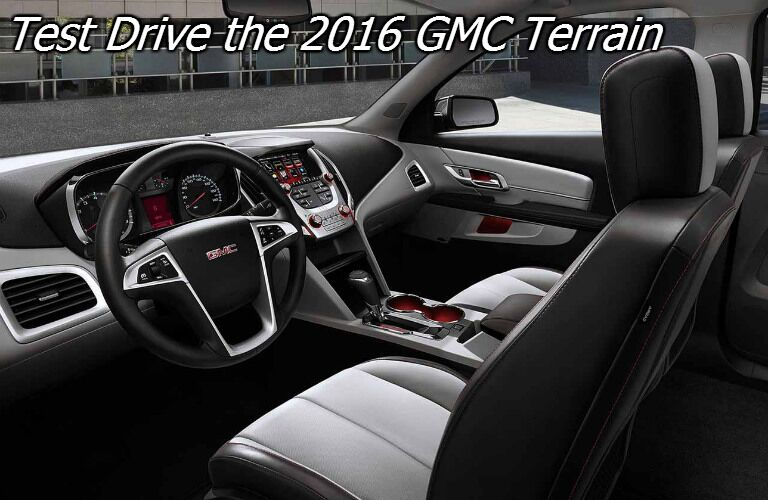 test drive the 2016 gmc terrain in wisconsin
