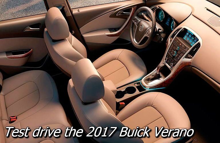 test drive the new 2017 buick verano in fond du lac wi