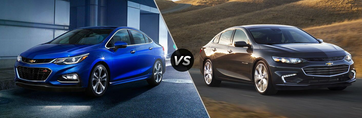 2017 Chevy Cruze vs 2017 Chevy Malibu