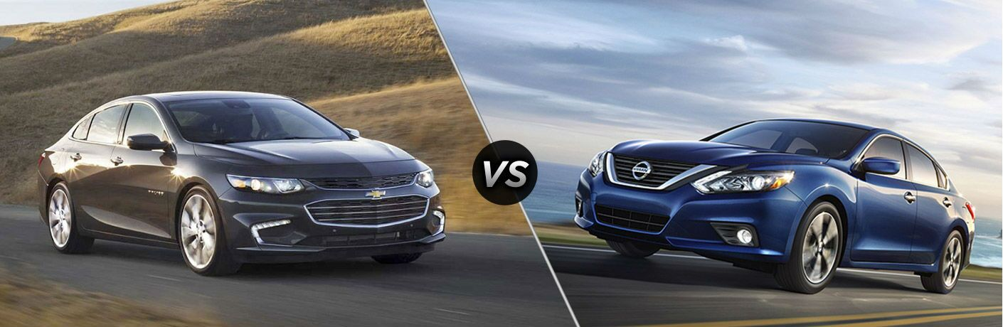 2017 Chevy Malibu vs 2017 Nissan Altima