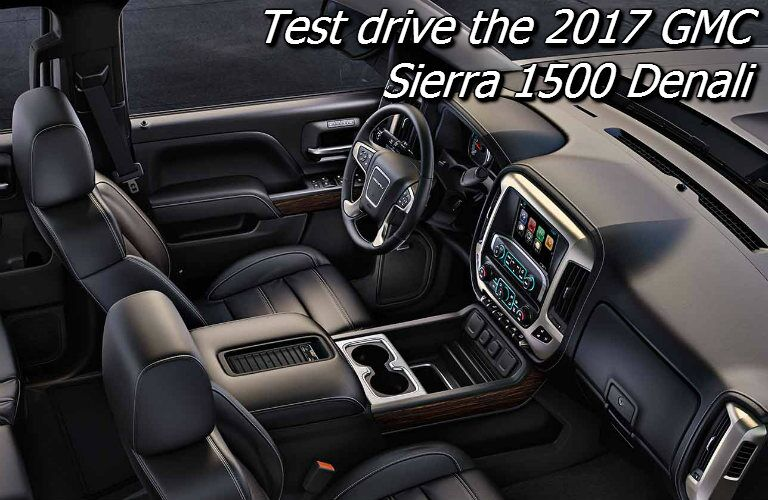 where can i test drive the sierra denali in oshkosh?