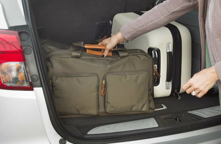2017 buick envision cargo space