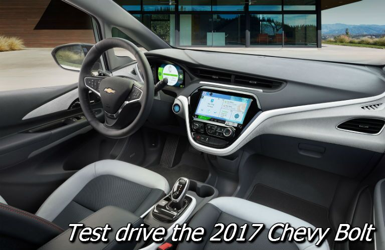 where can i test drive the 2017 chevy bolt in wisconsin?