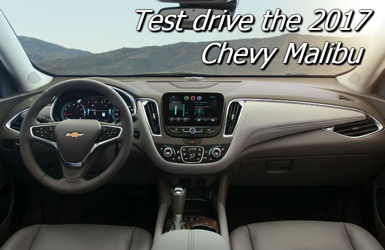 where to test drive the 2017 chevy malibu in fond du lac wi