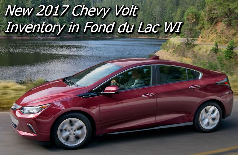deals on the 2017 chevy volt in fond du lac