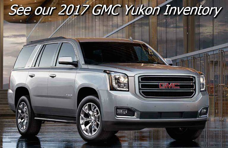 where can i find the 2017 gmc yukon in fond du lac wi?