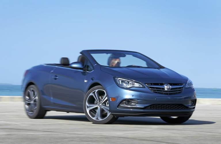 2018 Buick Cascada blue side view