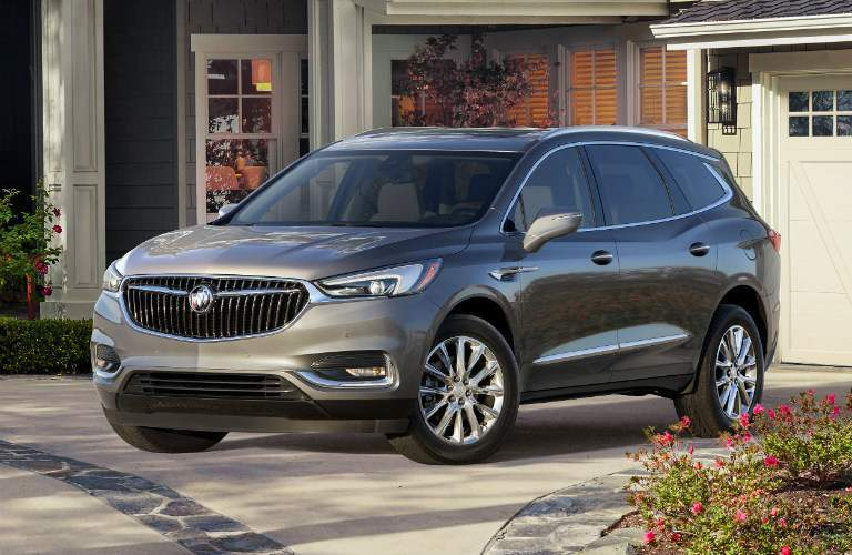 2018 Buick Enclave gray side view