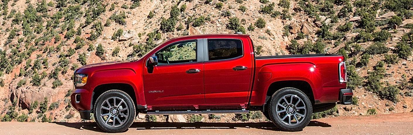 2018 GMC Canyon Denali red side view