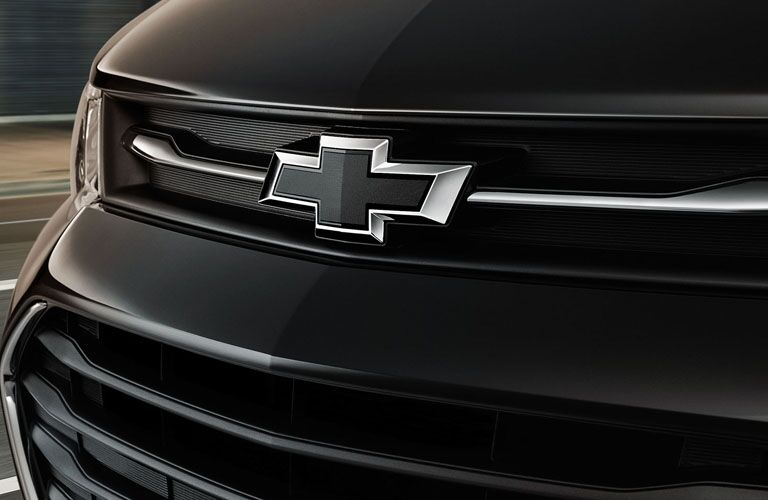 2019 Chevy Trax black Chevy bow-tie