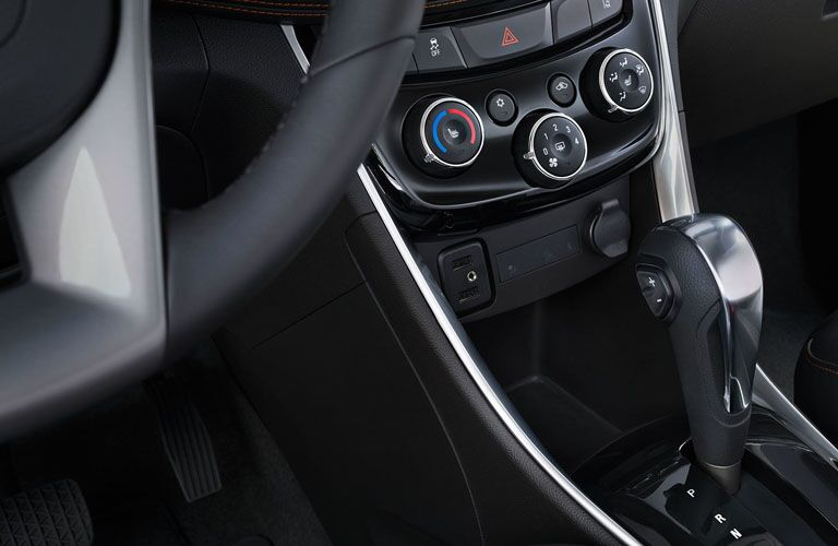 2019 Chevy Trax climate controls
