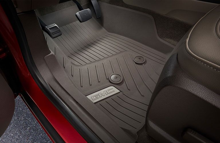 2019 GMC Canyon all-weather floor mats