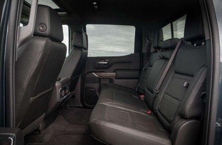 2019 GMC Sierra 1500 back seat crew cab
