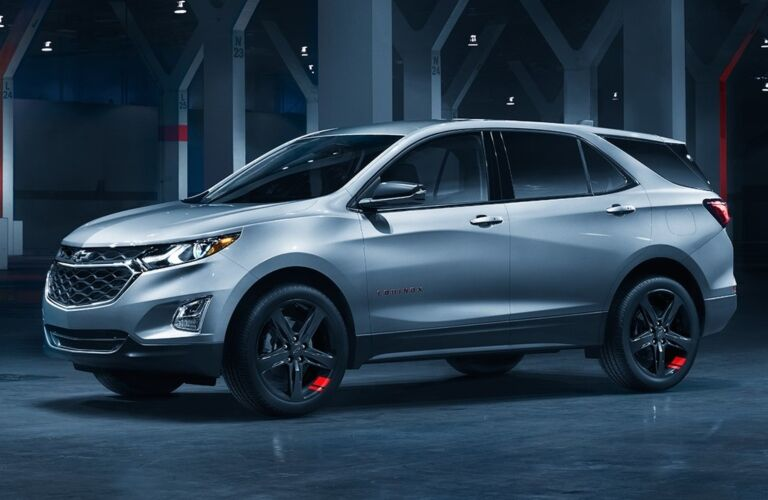 2019 Chevy Equinox Redline Edition white side view