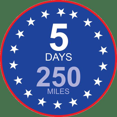 5-DAY VEHICLE EXCHANGE PROMISE