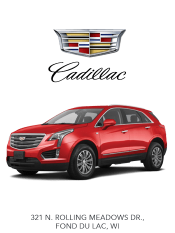 New Cadillac in Fond du Lac