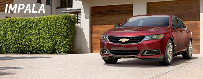 new chevy impala at holiday automotive