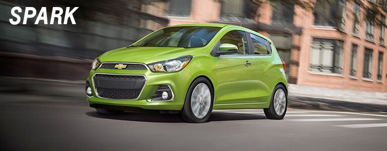 chevy spark at holiday automotive