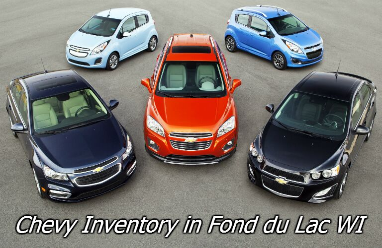 all chevy inventory in fond du lac WI
