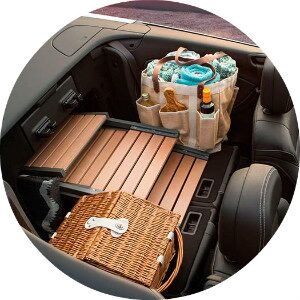 how much cargo fits in the 2016 cascada?