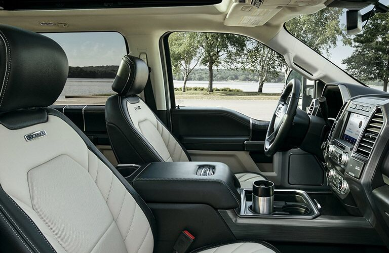 2020 Ford F-250 front seat