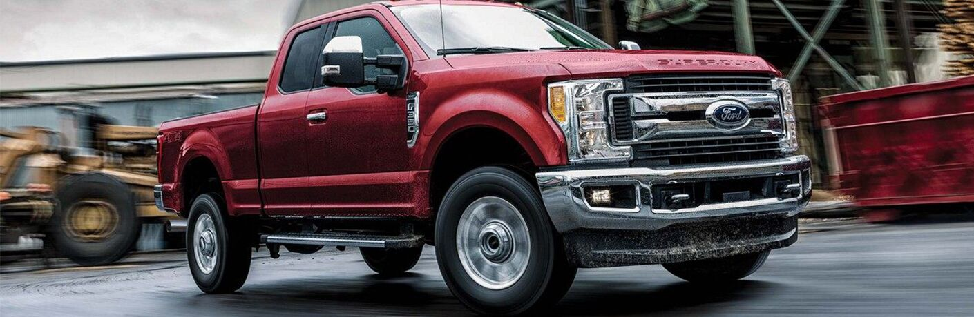 2019 Ford F-350 at job site