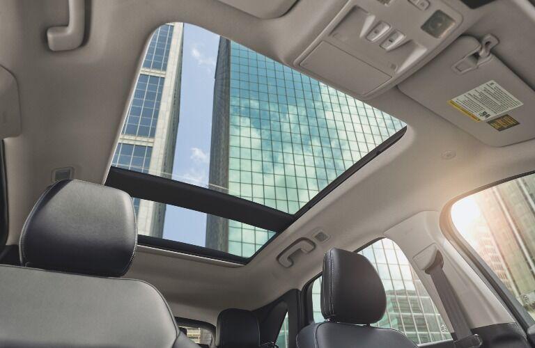 2021 Ford Escape sunroof