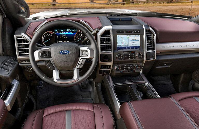 2021 Ford F-350 Super Duty dashboard