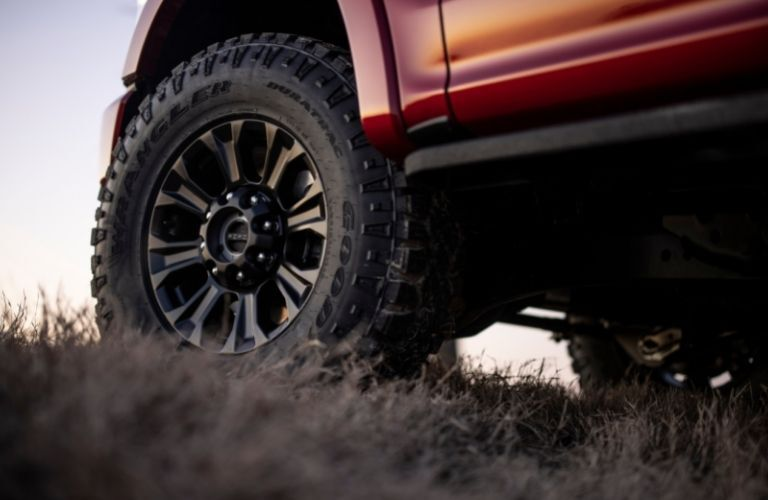 2022 Ford Super Duty wheel