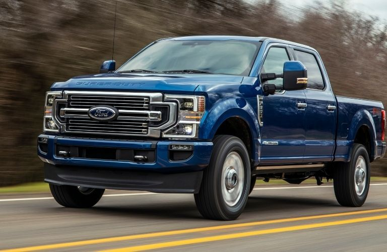 2022 Ford Super Duty side view