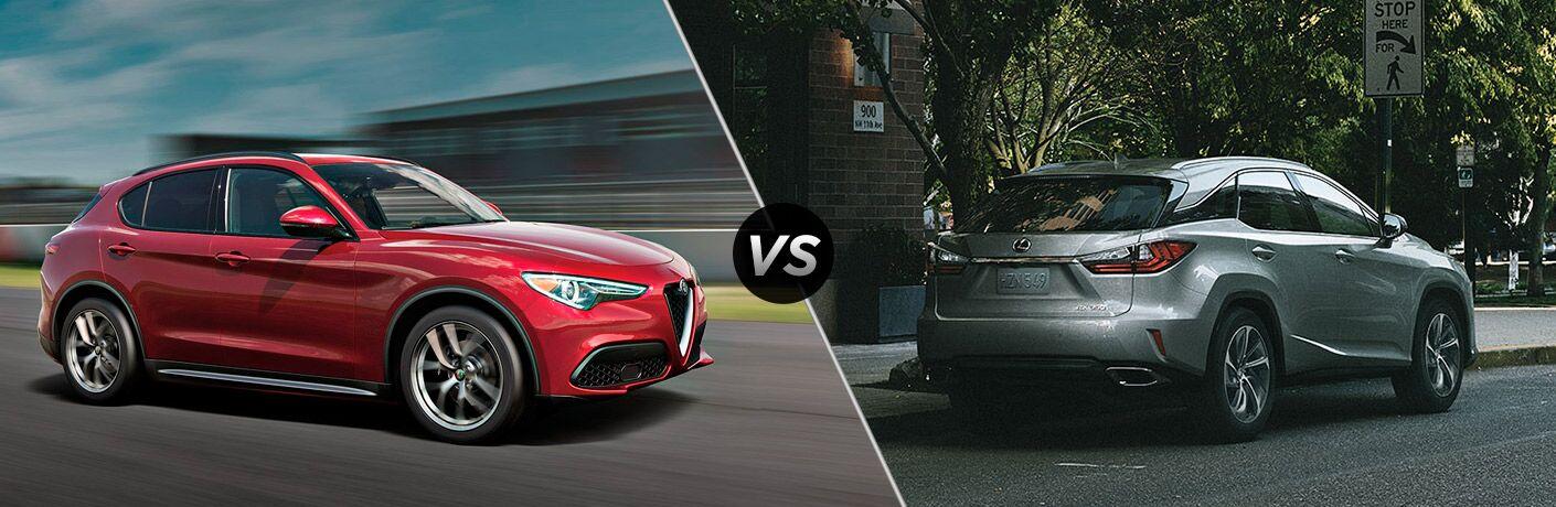 2018 Alfa Romeo Stelvio vs. 2018 Lexus RX 350