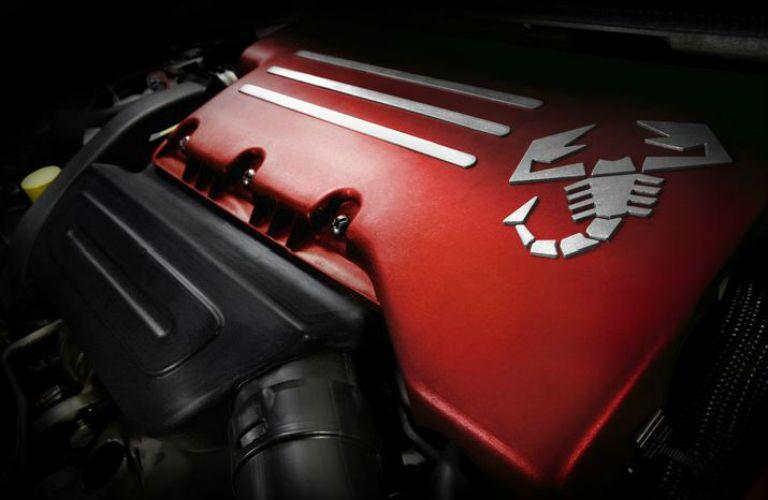 2018 FIAT 500 Abarth scorpion badging