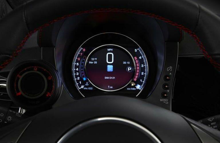 2018 FIAT 500 panel