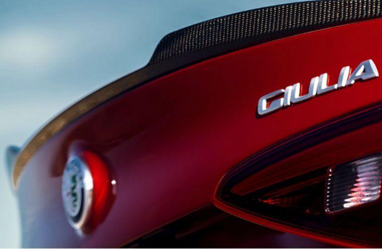 2019 Alfa Romeo Giulia badging