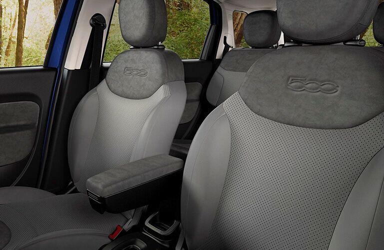 2019 FIAT 500L front seats